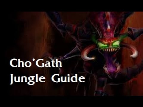League of Legends - Cho'Gath Jungle - Serious Mode Guide (Zirene)