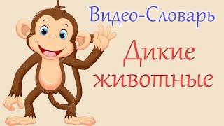 """Французский для Детей  """"Дикие Животные"""""""