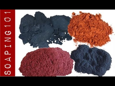 Natural Colorants in Soap Making {red, blue + purple} S2W8 - YouTube