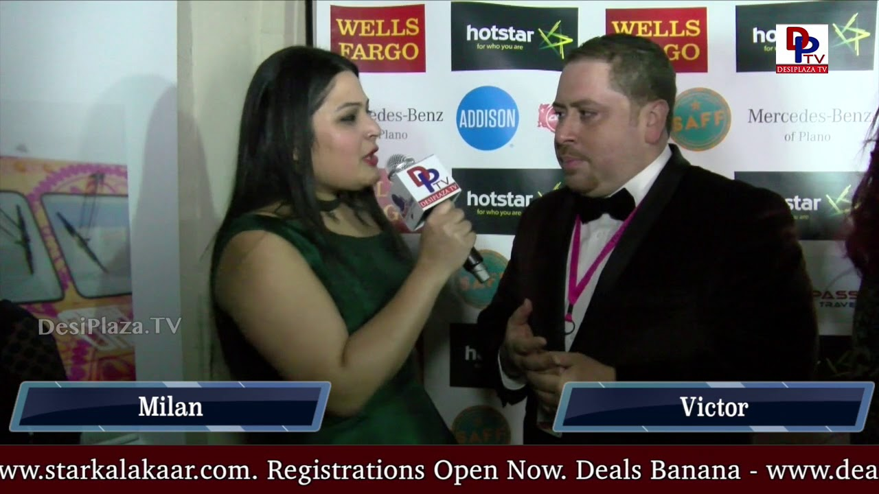 Victor - Hollywood film producer speaking to  Desiplaza TV at DFW South Asian Film Festival 2018