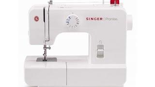 Aula de manuseio máquina de costura Singer Promise modelo 1408