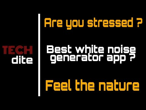 Relaxio | App Of The Day - 2 | White Noise Generator | Best App In Its Category|