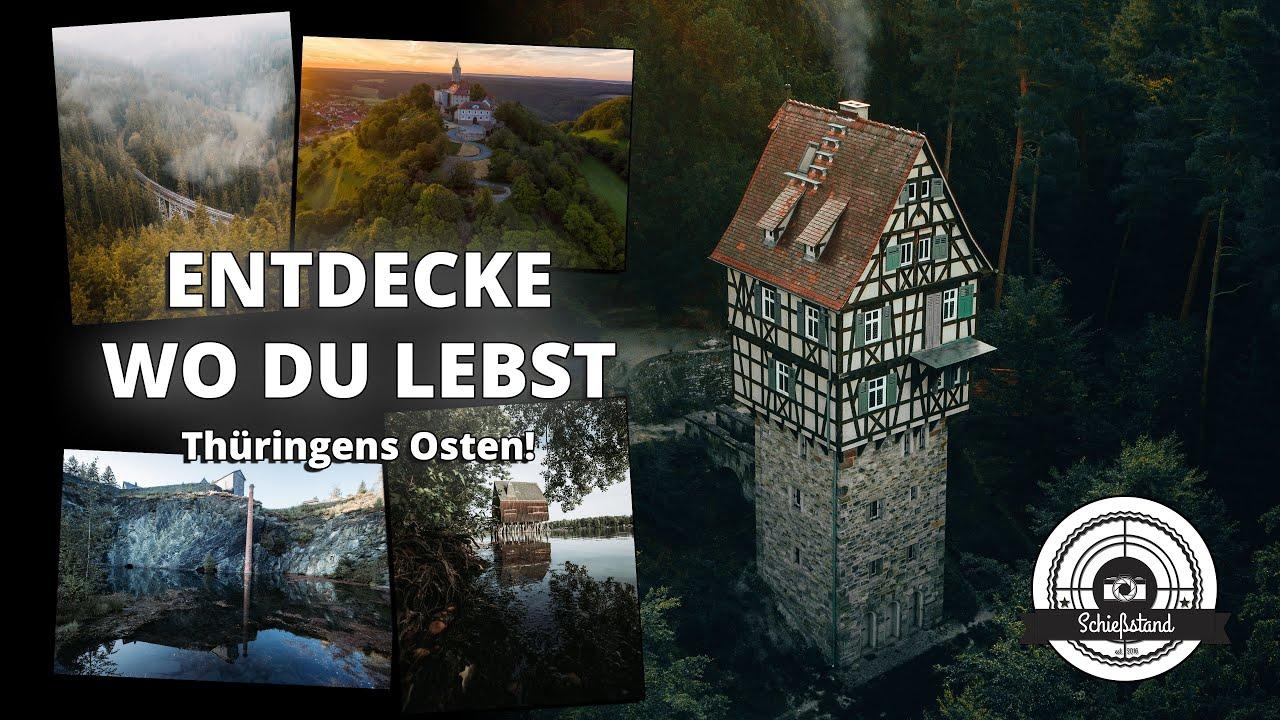 Entdecke wo du lebst - Thüringens fotogener Osten! #FOTO-VLOG