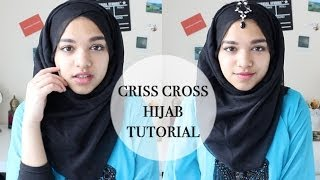 Criss Cross Hijab Tutorial Thumbnail
