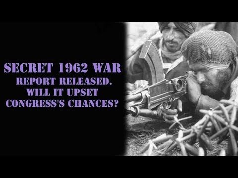 Classified Henderson-Brooks report on 1962 war released