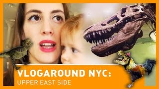 VLOGAROUND NYC: Upper West Side (American Museum of Natural History e Strawberry Fields)