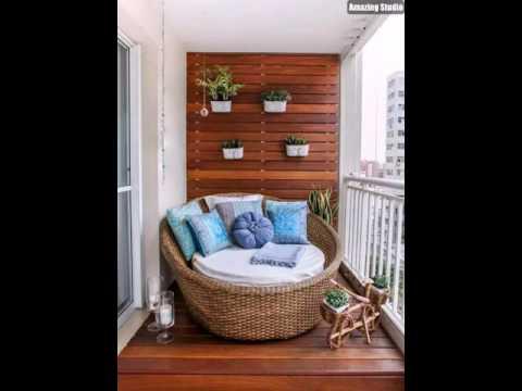 Kleine Terrasse Mit Lounge Möbeln Einrichten