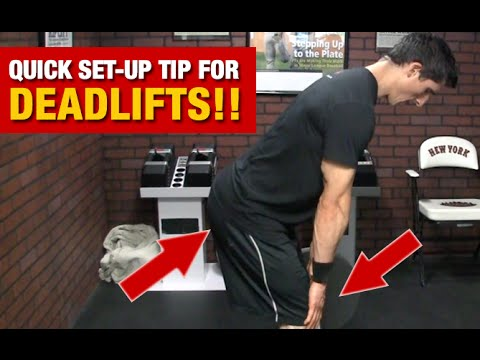 Proper Deadlift Setup (How to Nail it EVERY TIME!)