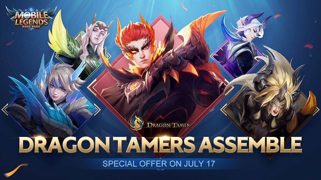 Dragon Tamer New Skin | Five Dragon Tamers Trailer | Dragon Tamer | Mobile Legends: Bang Bang