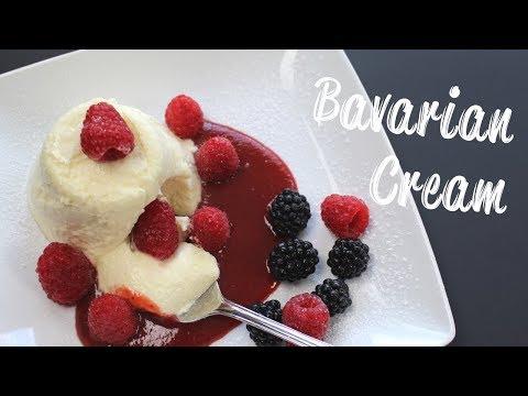 Bavarian Cream - German Dessert