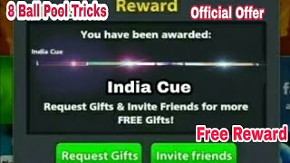 Finally 8 Ball Pool Get Free 【 India Cue 】 Officially Offer Fast Loot 😵