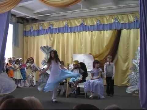 Спектакль золушка Кольчугино школа №1 2-А класс