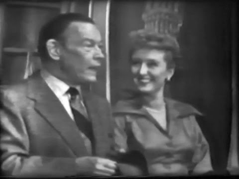Fred Allen on The Colgate Comedy Hour with Celeste Holm & Tony Martin Apr 15, 1951
