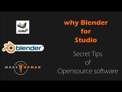 WHY USE BLENDER 3D IN SMALL STUDIO (bangla)