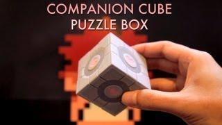 Companion Cube Puzzle Box
