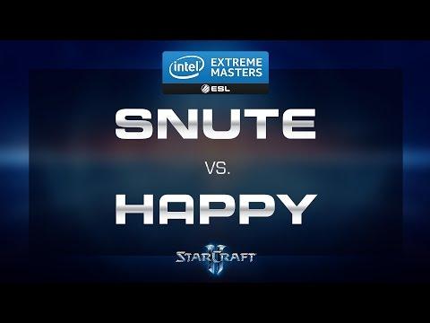 StarCraft 2 - Snute vs. Happy (ZvT) - IEM 2015 Shenzhen - EU Qualifiers - Semifinal