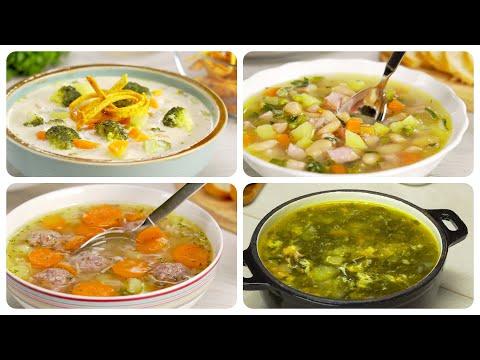 4 СУПА быстрого приготовления на все случаи жизни от Всегда Вкусно!