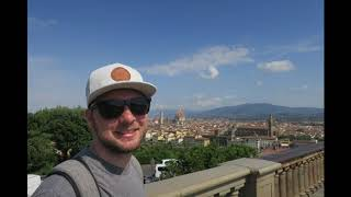 Our Time in Florence, Italy