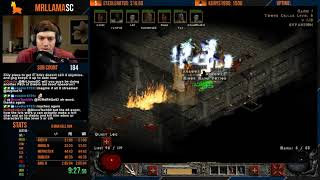 Diablo 2 - 8 Man Hell Speedrun! (01/12/2019)
