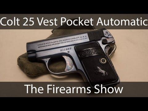 1908 Colt 25 Automatic Pistol
