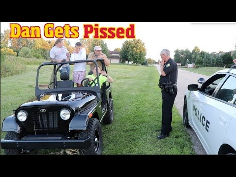 Testing the Mahindra Roxor- A cheap Jeep Knock off- until the Police came