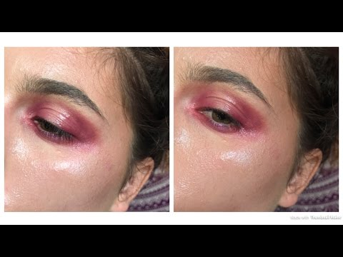 Glossy Editorial Look