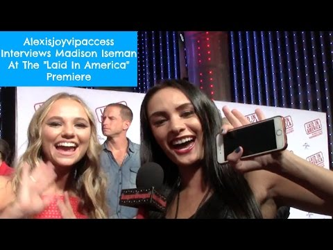 Madison Iseman  With Alexisjoyvipaccess At The Laid In America Premiere