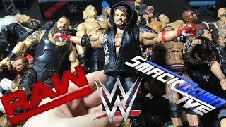 2017 WWE FIGURE ROSTER