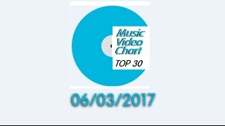 ClipNews Music Video Chart | Top 30 | 6, March, 2017