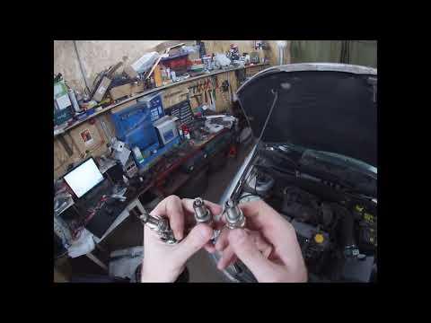 Калина 1 двигатель 1,6 8 клапанов троит после капиталки часть 1