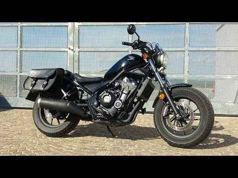 honda cmx500 rebel start up and sound youtube. Black Bedroom Furniture Sets. Home Design Ideas