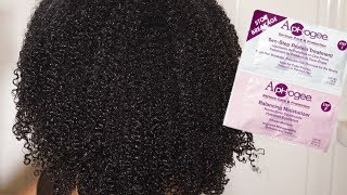 Trying Out This Aphogee 2 Step Protein Treatment On My 4a Natural Hair & Got BOMB RESULTS