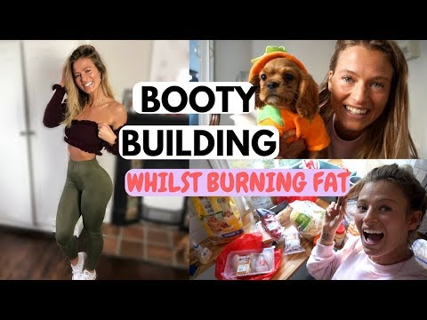 FAT BLASTING BOOTY WORKOUT & A HEALTHY FOOD SHOP