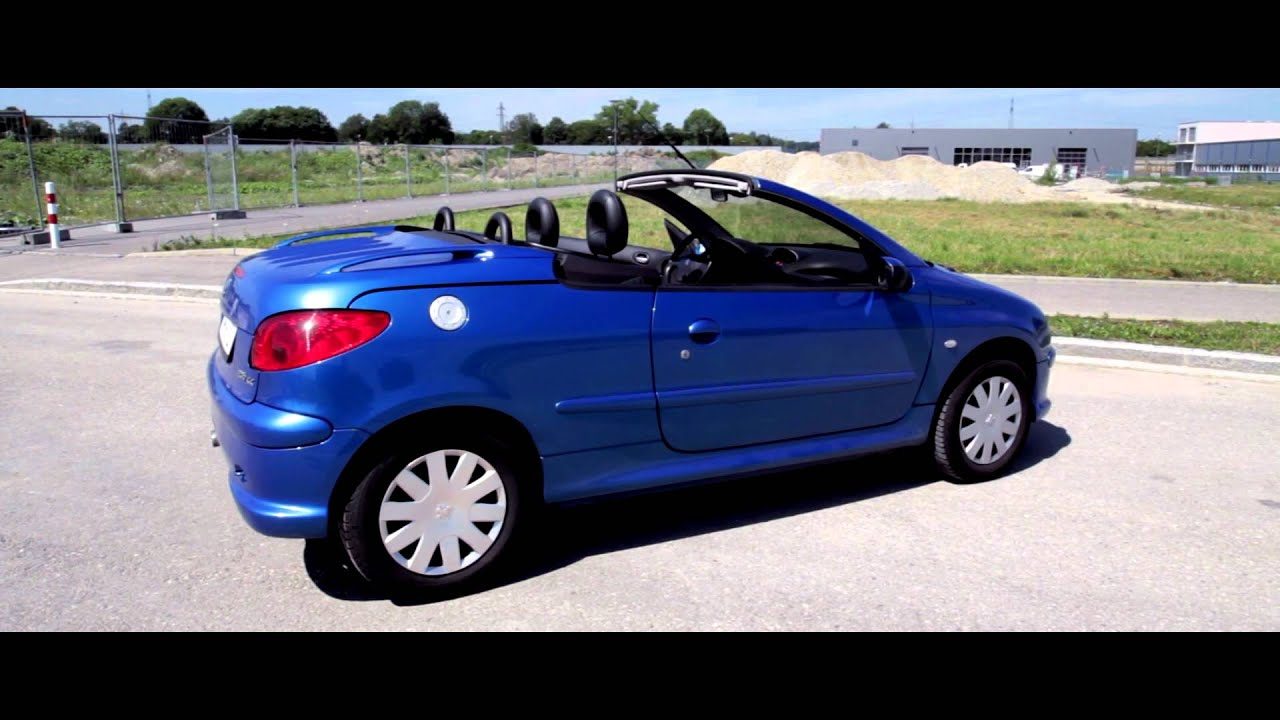 hd peugeot 206 cc platinum 135 convertible cabrio a tribut to shannon youtube. Black Bedroom Furniture Sets. Home Design Ideas