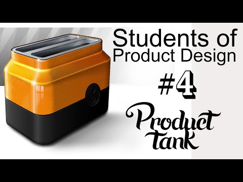 Rendering - Students of Product Design  Episode 04