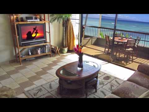 Gorgeous Maui Direct Oceanfront Vacation Rental at the Beachfront Hale Mahina