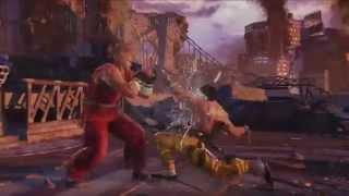 Геймплейный трейлер Tekken 7
