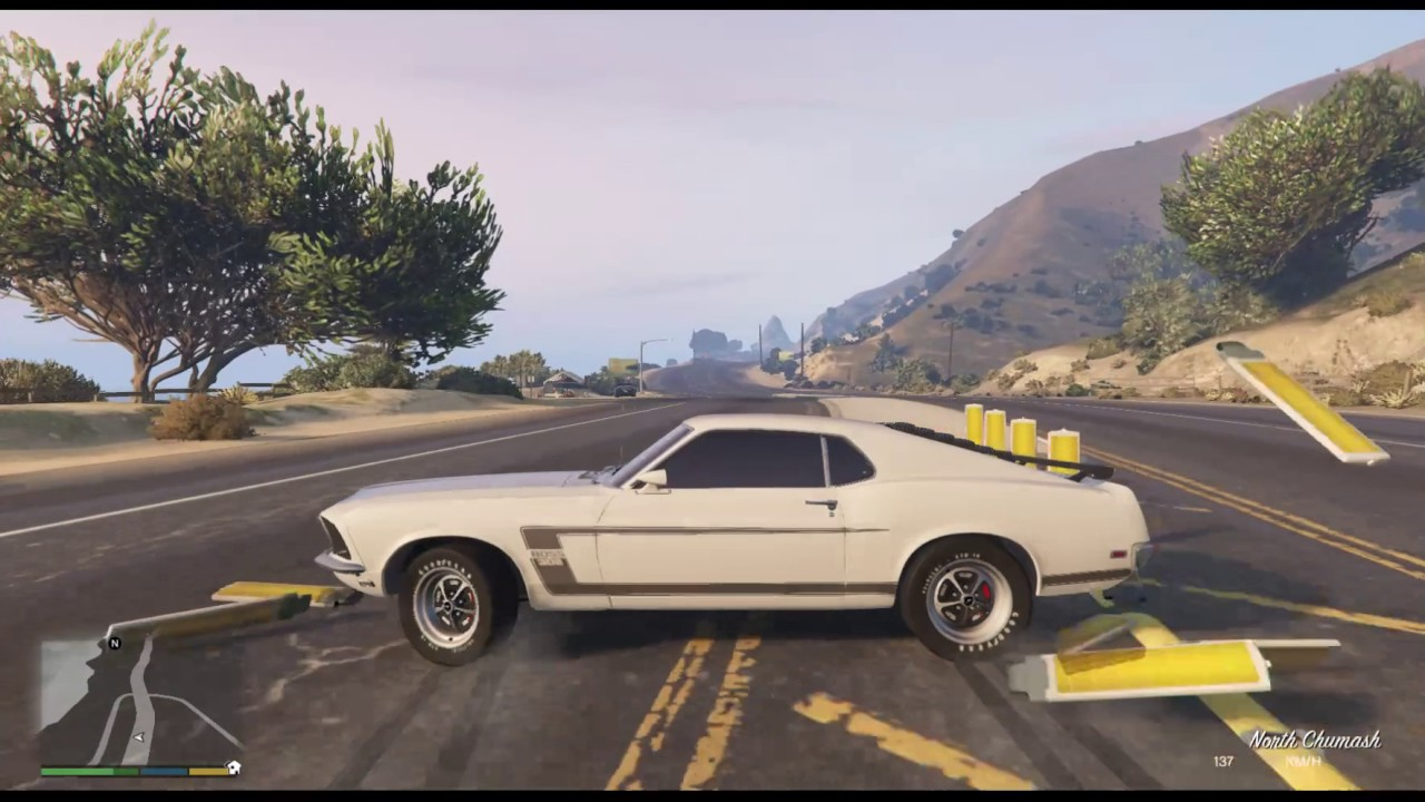 Gta v mods 1969 ford mustang boss