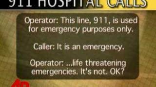 911 Call: Woman Dying in Hospital, No One Helps