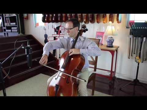 Demonstration of Pirastro Perpetual Cello Strings | Simply for Strings