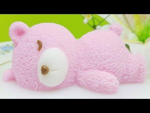 วุ้นแฟนซี I วิธีทำวุ้นหมีอุตุ วุ้นหมีนอนหลับ เมนูทำขาย รายได้ดี - Jelly Bear