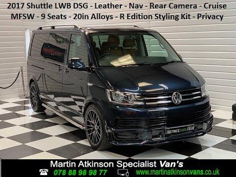 2017 (66) Volkswagen Transporter T6 Shuttle 2.0 TDi 150BHP DSG Automatic 9 Seater LWB (For Sale)