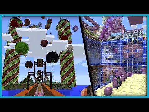 NAVI_HEYLISTEN & RTACUBED || Fan Server Base Tours 2018 [Minecraft 1.12]