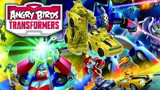 Angry Birds Transformers Telepods - Full Character Reveal