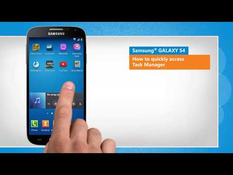 Quickly Access Task Manager On Samsung Galaxy S4