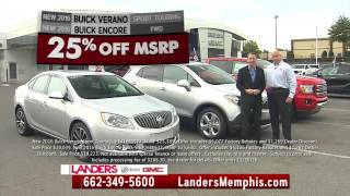 #1 Buick Dealer in Mississippi at Landers Buick GMC