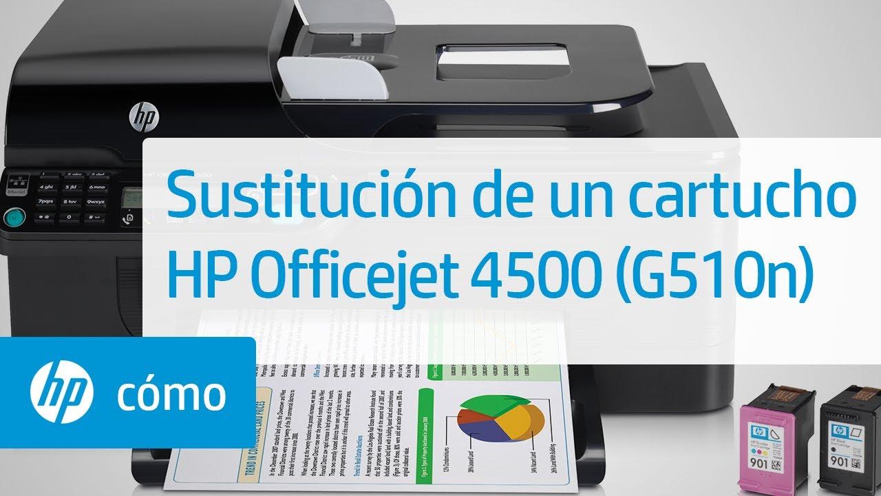Sustituci 243 N De Un Cartucho Impresora Todo En Uno