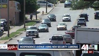 Security cameras help neighbors feel safe along Independence Ave. in KCMO