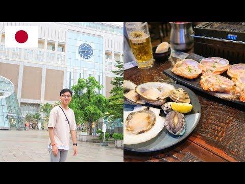 SAPPORO 札幌市 - Japanese SEAFOOD BBQ + SUSHI & Otaru Music Box Museum [HOKKAIDO Vlog]
