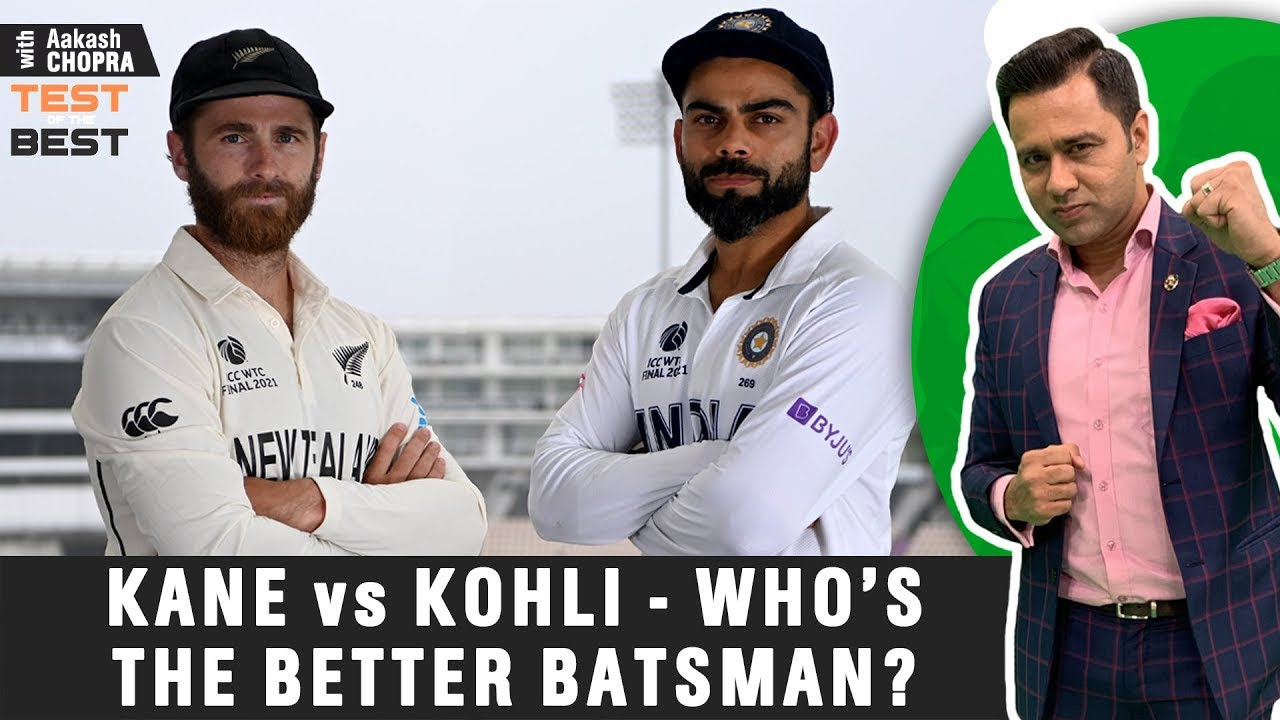 KANE vs KOHLI - Who's the BETTER BATSMAN?   Across FORMATS   Betway Test of the Best   Aakash Chopra